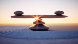 Social Media for Law Firms, balancing the scales, abstract image of balance.